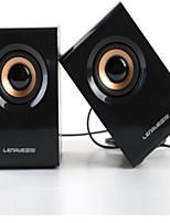 usb2.0 portable petite audio subwoofer en bois voiture audio