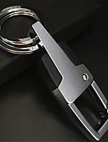 Key Ring Men 'S Metal Waist Hanging Key Chain Car Leather Key Ring