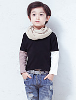 Boy's Casual/Daily Solid ShirtCotton Fall Black / Blue / White