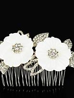 Vrouwen Bergkristal / Licht Metaal Helm-Bruiloft / Speciale gelegenheden / Informeel / Buiten Haarkammen 1 Stuk