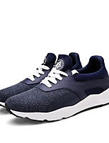 Men's Sneakers Spring / Summer / Fall / Winter Comfort  Casual Flat Heel Lace-up Black / Blue / Red Walking