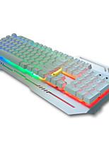 Проводной Клавиатура Эргономичная клавиатура / Мультимедийная клавиатура / Механическая клавиатура / Игровые клавиатурыМульти цвет