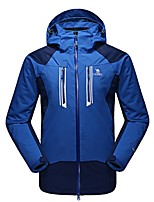 Camel Men's Interchange 3-in-1 Active Waterproof Outdoor Sports Jacket Color Blue/Grey