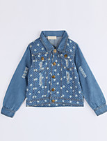 Girl Casual/Daily Galaxy Suit & Blazer,Cotton Fall Long Sleeve