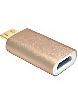 Magnetic Micro USB Adapter Micro USB Female Charging Data Sync Cable For