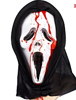 Halloween Masks Ghost Scary Scream / Ghost Festival Supply For Halloween / Masquerade 1Pcs