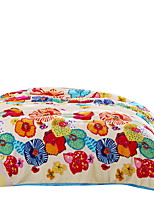 Bedtoppings Blanket Flannel Coral Fleece Queen Size 200x230cm Colorful Prints Thick 310GSM
