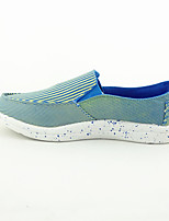 Women's Loafers & Slip-Ons Fall Comfort Canvas Casual Flat Heel Others Blue Red Gray Others