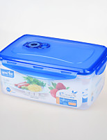 Rectangular Sealed Vacuum Food Storage Container 2.75Liter