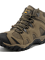 Men's Flats Fall Other Synthetic PU Outdoor Athletic Low Heel Others Brown Tan Hiking