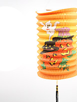 1PC The Telescopic Tylinder Lanterns For Halloween Costume Party
