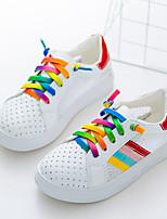 Jungen-Sneaker-Lässig-Leder-Flacher Absatz-Flache Schuhe-Grün / Rot