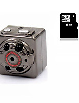 Other Metall Minikamera 720P / 1080P Schwarz 1.4