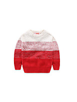 Boy's Striped Sweater & CardiganCotton Winter / Spring / Fall Black / Red