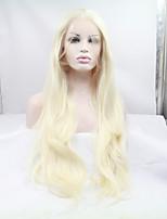 Sylvia синтетический парик фронта шнурка отбеливатель блондинка жаропрочные длинные прямые синтетические парики