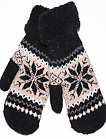 Pure Wool Gloves (Black)