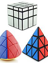 Shengshou® Гладкая Speed Cube Чужой Зеркальная поверхность / профессиональный уровень Избавляет от стресса / Кубики-головоломкиРозовый