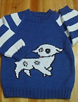 Baby Casual/Daily Jacquard Sweater & CardiganCotton Winter / Fall-Blue
