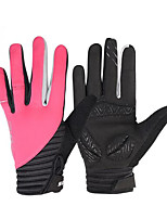 Gloves Sports Gloves Women's Cycling Gloves Spring / Autumn/Fall / Winter Bike GlovesKeep Warm / Anti-skidding / Wearproof / Wearable /