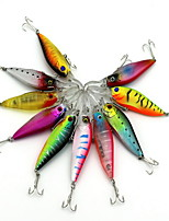 1 pcs kleiner Fisch kleiner Fisch Zufällige Farben 11.7 g Unze mm Zoll,Fester Kunststoff Köderwerfen