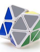 Shengshou® Cube de vitesse lisse Equipement Vitesse Cubes magiques Blanc Autocollant lisse Feng Anti-pop ABS