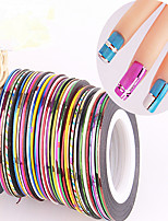 Manicure Tools To Gold Wire Silver Wire Sticker Decals Wire Gold Silver Wire Decorative Thread Nail Line