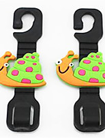 Cute Cartoon Car Hooks Car Seat Hooks Multi - Purpose Car Seat Back Hook Automotive Supplies