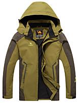 Wandern Softshell Jacken Herrn Atmungsaktiv / warm halten / Windundurchlässig / tragbar Winter BaumwolleGrün / Rot / Blau / Purpur /