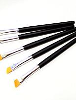 5 Pincel de Sombrancelha Escova de Nailom Profissional / Viagem / Portátil Madeira Olhos Outros