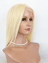 #613 Human Hair Lace Wigs Silk Straight Lace Front Human Hair Wigs For Women