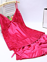 Women Ultra Sexy NightwearSexy  Fuchsia / White / Pink / Purple / Blue / Yellow / Black / Royal Blue Women's
