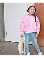 Girl's Casual/Daily Solid Clothing SetCotton Winter / Fall Pink