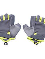 gants de remise en forme (gris code de s vert)