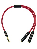 CY® 3,5 mm audio jack-3,5 mm audio jack 0,2 m (0.65Ft)