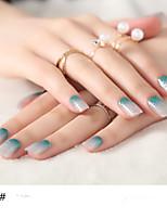 1sheet Nagel-Kunst-Aufkleber Wassertransfer Abziehbilder Make-up kosmetische Nail Art Design