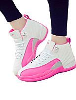 Unisex Sneakers Spring / Fall Comfort Fabric Casual Flat Heel  Black / Blue / Red / Black and Red / Fuchsia Sneaker