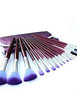 16.0 Conjuntos de pincel Escova de Nailom Profissional / Portátil Madeira Rosto / Olhos / Lábio Outros