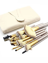 24(pcs) Makeup Brushes Set Professional Blush/Powder/Foundation/Concealer Brush Shadow/Eyeliner Brush With Top Grade Bag