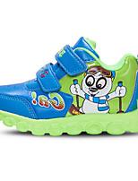 Синий / Розовый / Фиолетовый / Серый-Для мальчиков-На каждый день-Полиуретан-На плоской подошве-Удобная обувь-Кеды