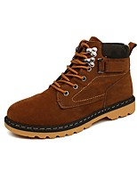 Men's Boots /Martens Boots /Spring / Fall / Winter Comfort Suede Casual / Black / Blue / Khaki