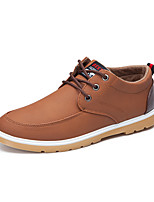 Men's Sneakers New Arrival / Comfort / Fashion / Casual Flat Heel  Blue / Black / Brown
