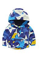 Boy's Casual/Daily Galaxy Jacket & CoatCotton Spring / Fall Blue