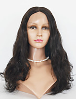laço do cabelo humano perucas perucas frente virgem onda de renda corpo cabelo indiano