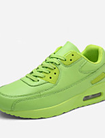 Unisex Sneakers Spring / Fall Comfort PU Casual Flat Heel  Black / Green / Red / White Others