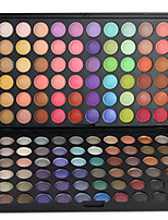 120 Lidschattenpalette Trocken / Mineral Lidschatten-Palette Puder Set Halloween Make-up / Party Make-up / Alltag Make-up
