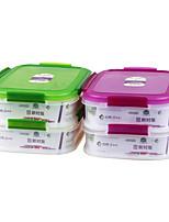 качество еды кухня 2 отделения контейнер еды комплект (1.75l * 2р)