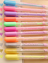 Lovely Candy-Colored Princess Little Girl Pastel Pen (A Box Of 12)