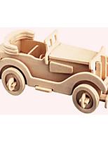 Пазлы Деревянные пазлы Строительные блоки DIY игрушки Автомобиль 1 Дерево Со стразами