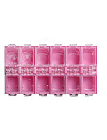 1PCS Nail Transparent Storage Box