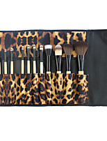 12 pcs Makeup Brush Set Blush Brush Contour Brush Synthetic Hair Full Coverage Limits bacteria Lip